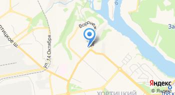 Воронежский вечерний рынок на карте