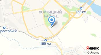 КВУЗ Запорожский педагогический колледж Запорожского областного совета, заочное отделения на карте