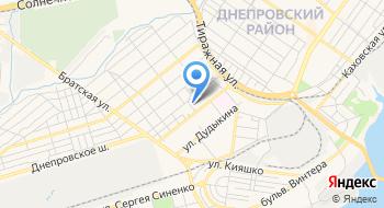 Первичная профсоюзная организация филиала концерна городские тепловые сети Днепровского района на карте