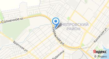 Запорожский завод композитных изделий Фаворит на карте