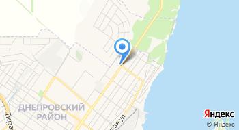 СТО Каховская на карте