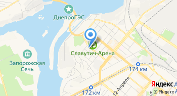Запорожский обьедененный городской военный комиссариат на карте