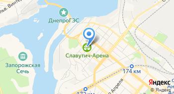 Стадион Славутич Арена на карте