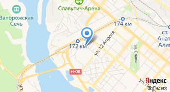 Салон эротического массажа Art studio в Запорожье на карте