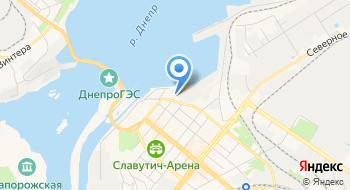 Филиал Запорожский Речной Порт АСК Укрречфлот на карте