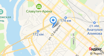 Гостиница Социальные Инициативы Запорожья на карте