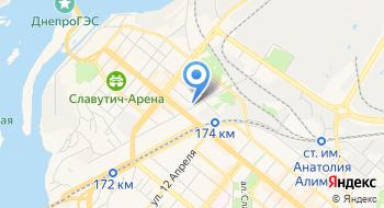 Ку Запорожская станция скорой экстренной медицинской помощи Днепровского района Левобережная на карте