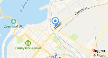 Запорожский областной не государственный архив на карте