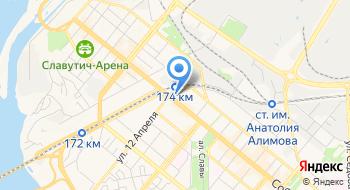 Департамент спорта, семьи и молодежи Запорожского городского совета на карте