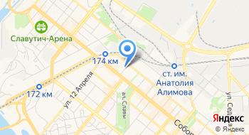КП Градпроект на карте