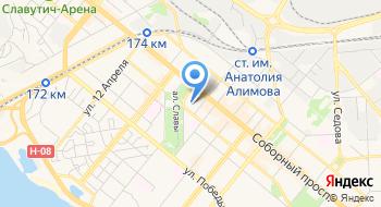 Гостиничный-ресторанній комплекс Slava на карте