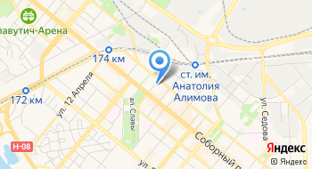 Бюро переводов Европеревод на карте