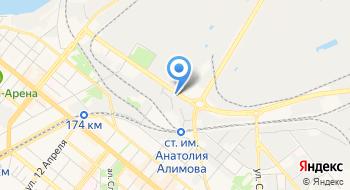 Ас-тор на карте