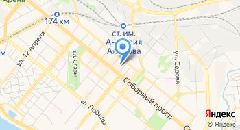 Запорожское управление Офиса крупных плательщиков налогов ГФС на карте