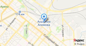 Макфа-Запорожье на карте