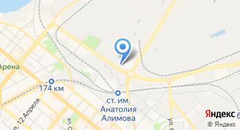 Автомойка Диагональная на карте