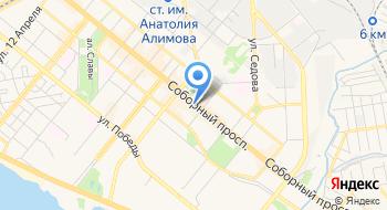 Кинотеатр им. Александра Довженко на карте
