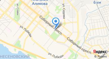 Украинская финансовая группа на карте