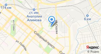 Спортивный клуб Строитель на карте