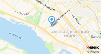 Жовтневый РО в г. Запорожья Угмс Украины в Запорожской области на карте