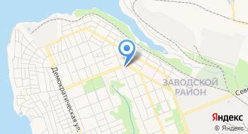 Центр обслуживания абонентов Городского коммунального предприятия Основание по Заводскому району на карте