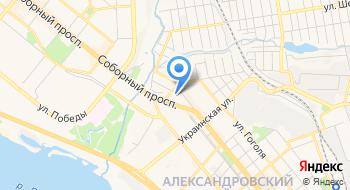 Департамент государственной архитектурно-строительной инспекции в Запорожской области на карте