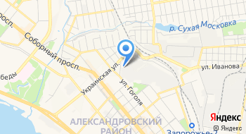 Запорожский профессиональный лицей железнодорожного транспорта на карте