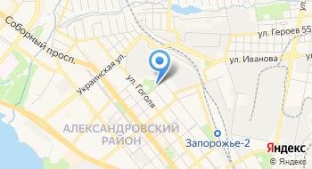 Запорожский электровозоремонтный завод на карте