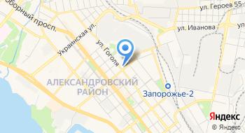 Главное управление Гсчс Украины в Запорожской области, отдел персонала на карте
