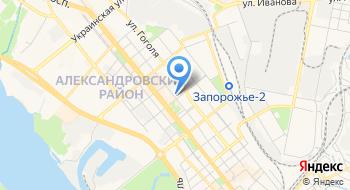 Управление Службы Безопасности Украины в Запорожской области на карте