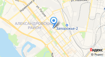 Запорожский следственный изолятор на карте