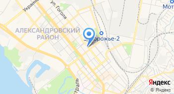 Ку Областной врачебно-физкультурный диспансер ЗОС на карте