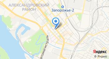 Запорожский академический областной украинский музыкально-драматический театр имени В.Г. Магара на карте