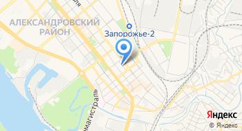Запорожский областной военный комиссариат на карте