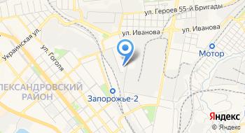 Запорожский НИЭКЦ МВД Украины на карте