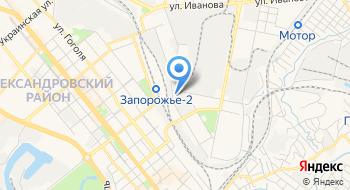 Коммунальная учреждение Запорожский Противотуберкулезный Диспансер № 4 Запорожского областного совета на карте