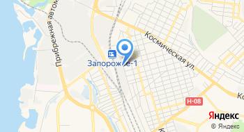 Запорожский механический завод на карте