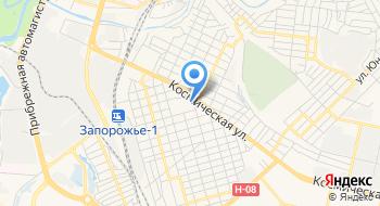 Коммунарское отделение полиции Днепровского отделения полиции в Запорожской области на карте