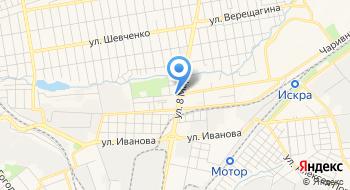 Шевченковский районный военный комиссариат на карте