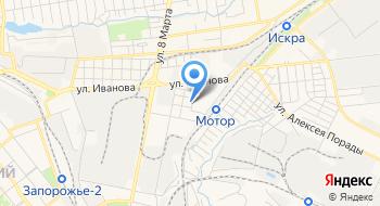 Запорожская детская музыкальная школа №6 на карте