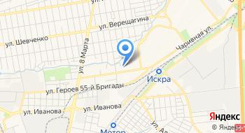 Бульвары Запорожья на карте
