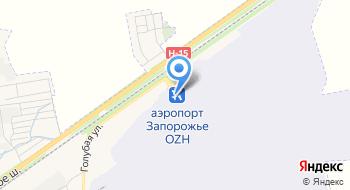 Запорожский профсоюз авиационных диспетчеров на карте