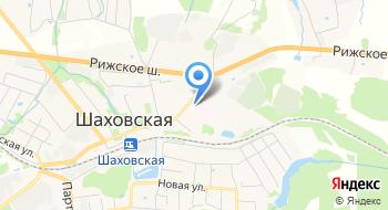 Шаховская Центральная Районная больница Родильное отд. пос. Шаховская на карте