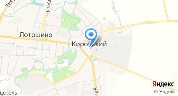 Прокуратура Лотошинского района пос. Кировский на карте
