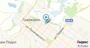 Россельхозбанк, Дополнительный офис Грайворон на карте