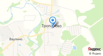Останкинский Мясоперерабатывающий комбинат Гараж дер. Тропарево на карте