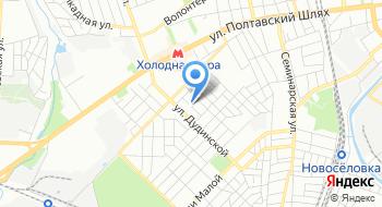 Частная общеобразовательная школа I-III ступеней Харьковской области Начало мудрости на карте