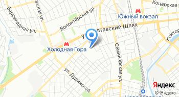Западная ОГНИ г. Харькова ГУ ГФС Харьковской области на карте