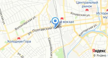 Баня На Рылеева на карте