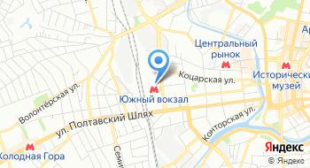 Транспортный отдел УГППС Укрпочта Харьковская дирекция на карте